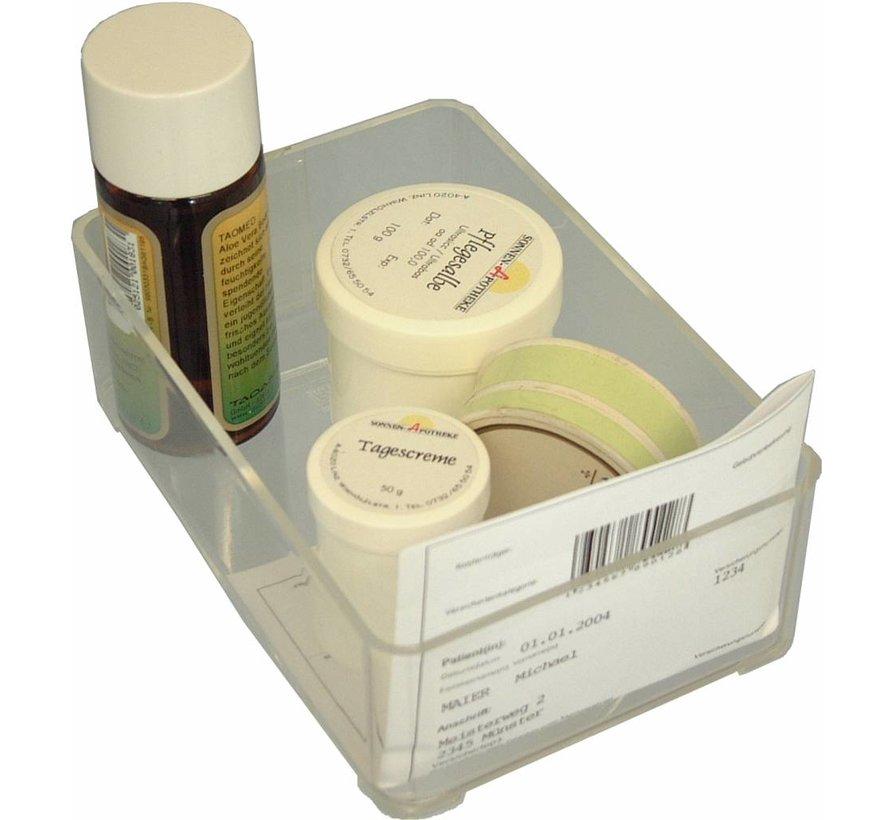 Stackable medicine bin 105 x 77 x 47 mm (Type 203)
