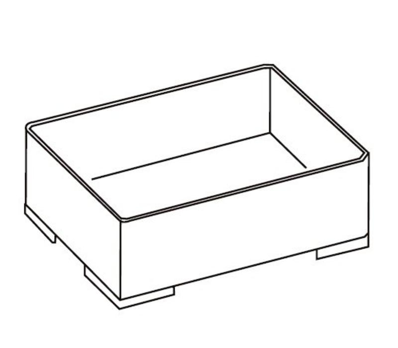 Storage Box 204 transparent, stackable