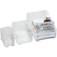 Storage Box 202 transparent, stackable