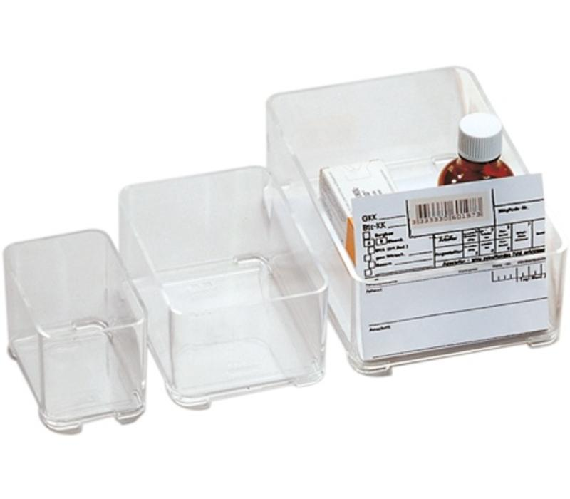 Stapelbare medicijnbak 77 x 51 x 47 mm type 202