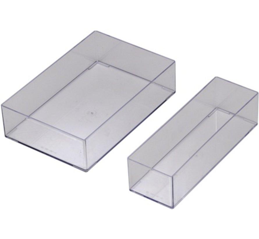 Stackable medicine bin 295 x 100 x 75 mm (Type 205)