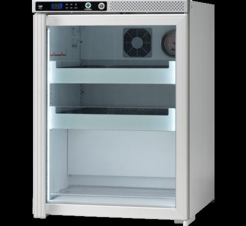Vestfrost AKS 157 medicine refrigerator with glass door