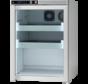 AKS 157 medicine refrigerator with glass door
