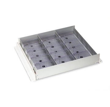 HapoH AluCool medicine drawer for Liebherr