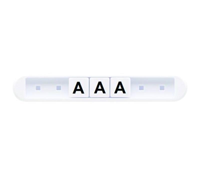 Losse letters per 50 stuks