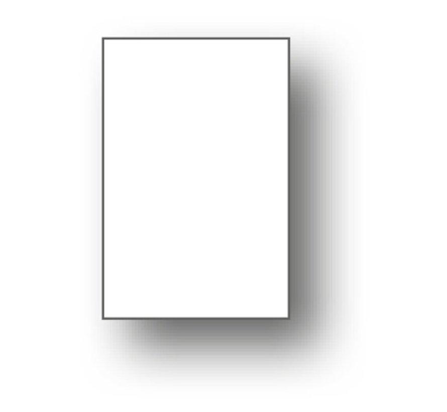 100 x Mini card 50x25mm plain