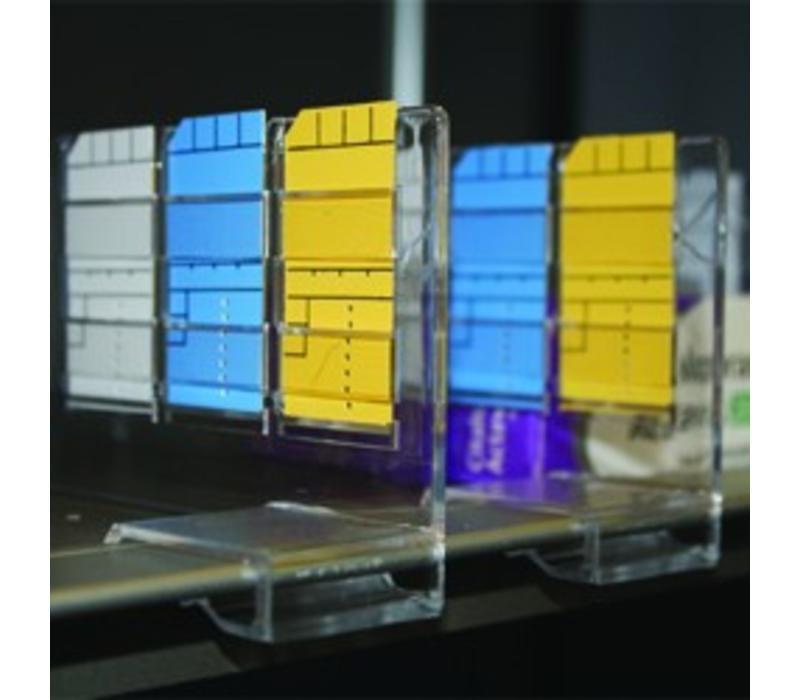 100 x Minikaart 50x25mm kaders