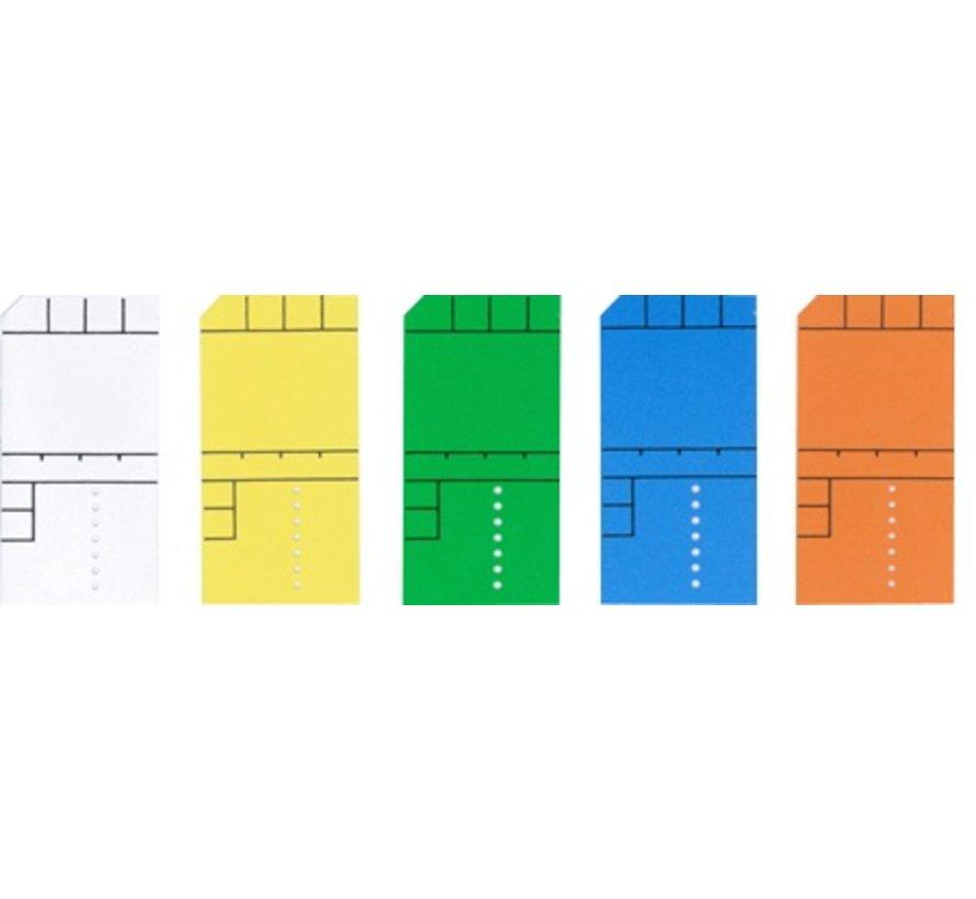 100 x Mini card 50x25mm frames