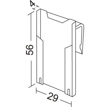 Mini card holder BK55 / 3-5