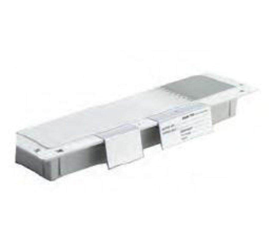 Module etikettenhouder 40mm hoog