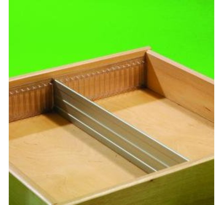 Aluminum divider 55mm (cut to size)