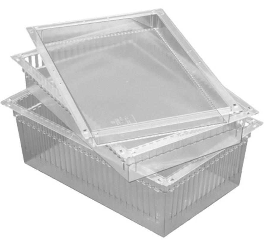 FlexModul® 600x400x200mm PC Transparant