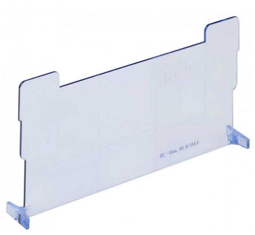 Verdeelschot BPV koelkast ( diverse afmetingen )