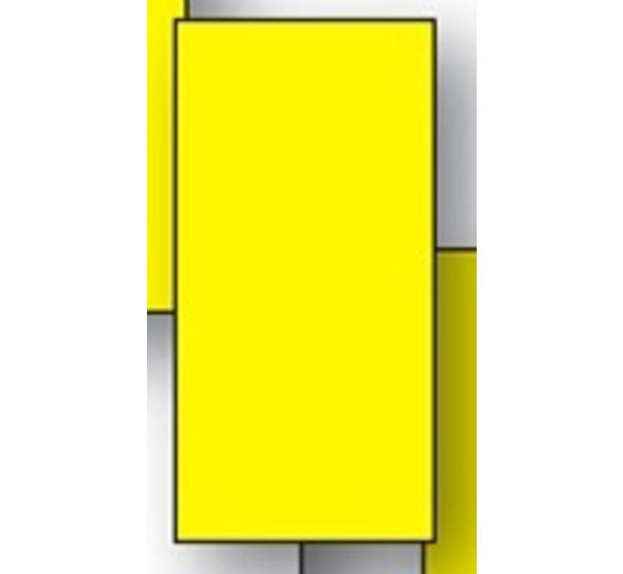 800 stuks Minikaart 50x25mm