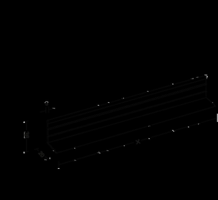 Hoekprofiel VSW 35mm op maat gezaagd