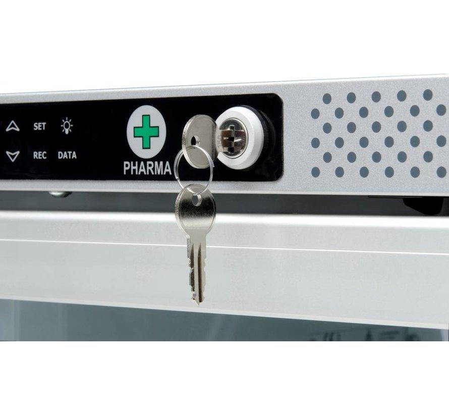 AKS 397 Medicine refrigerator solid door with DIN58345