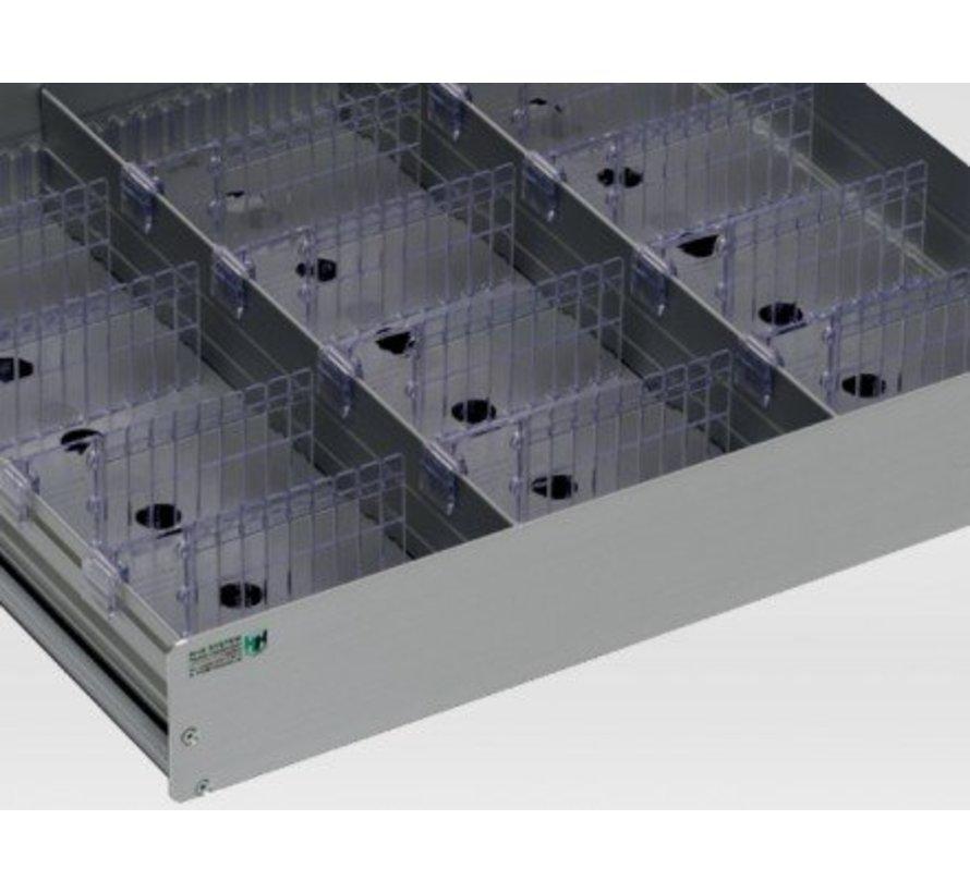AluCool medicijnlade voor 60cm brede koelkasten