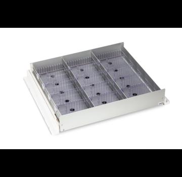 HapoH AluCool medicine drawer for 60cm wide refrigerators