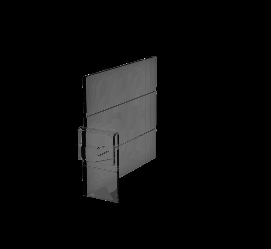 Verdeel schot 100mm hoog voor 55mm profielen