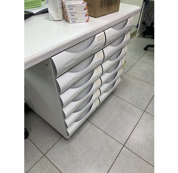 Willach Fama2Go 550mm under counter drawer system