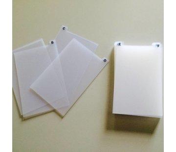 HapoH Tabs set Recipe tray