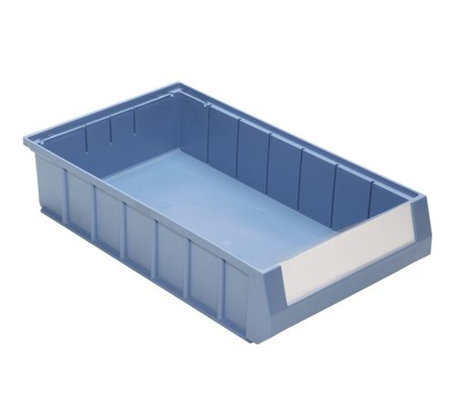 Shelf bin with handle (400 x 234 x 90 mm), box with 8 pieces