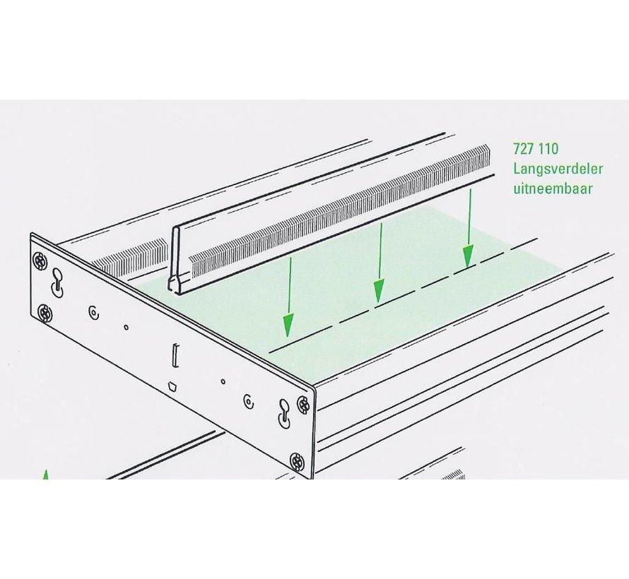 Drawer divider length