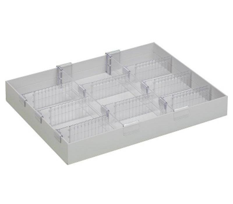 Medication tray with custom format