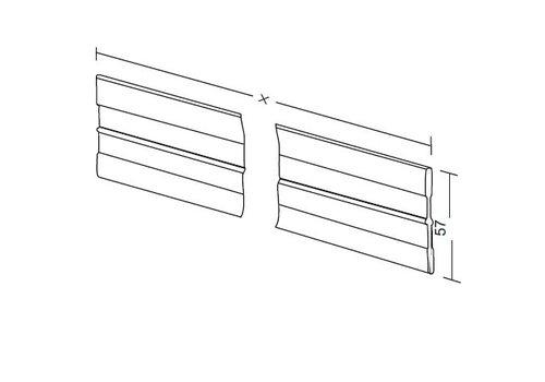 Aluminum divider 55mm (custom)
