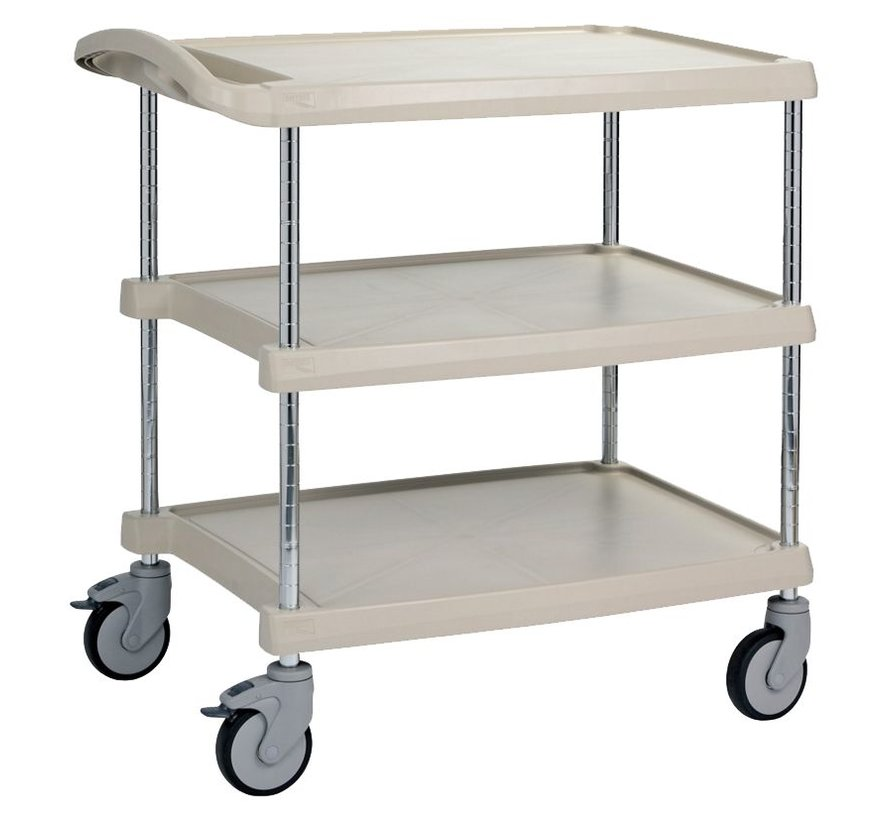 Table trolley with 3 shelves type MC