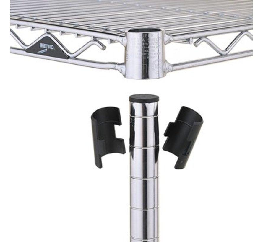 Super Erecta Complete shelving system depth 455mm
