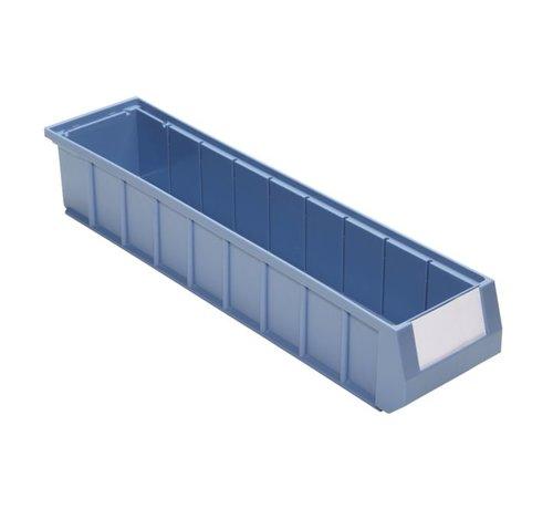 Shelf bin with handle (500 x 117 x 90 mm) box with 16 pieces