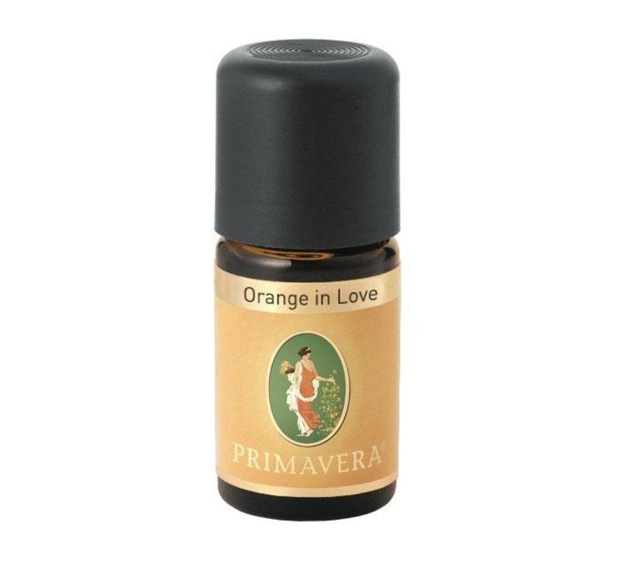 """""""Orange in Love"""" 5 ml etherische geurolie"""