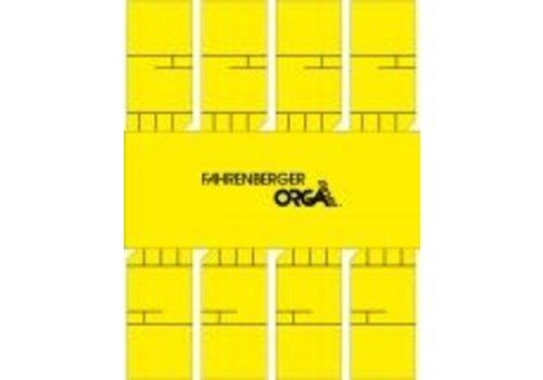50 x 8 Minikaarten (Geel)