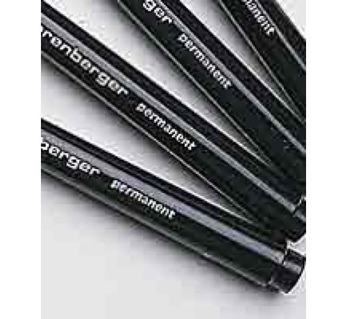 Permanent marker, fine, black (5 pcs.)
