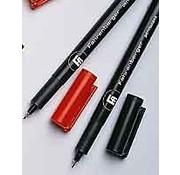 Fijnschrijver, rood (5 stk.)
