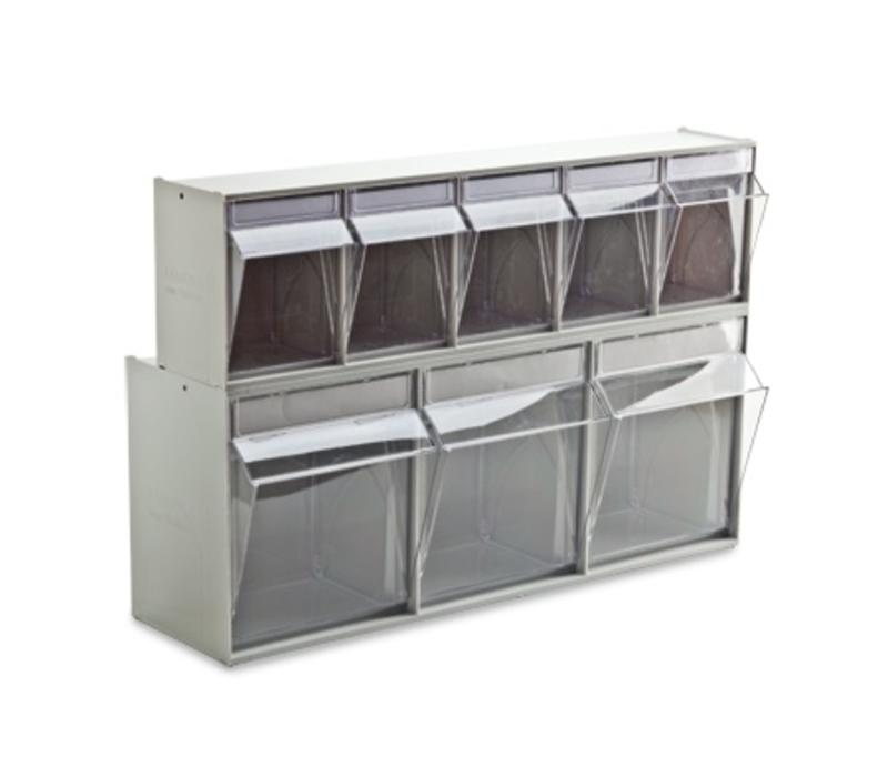 Tilting system 9-compartment 600x67x77 mm
