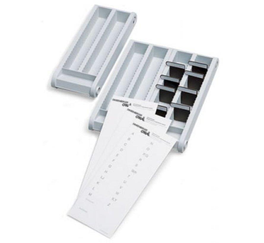 Minikaart sorteerbox 2 stuks