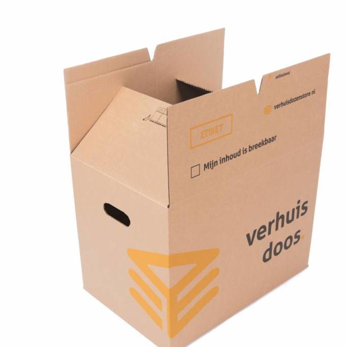 Verhuisdozen standaard autolock pakket 10 stuks