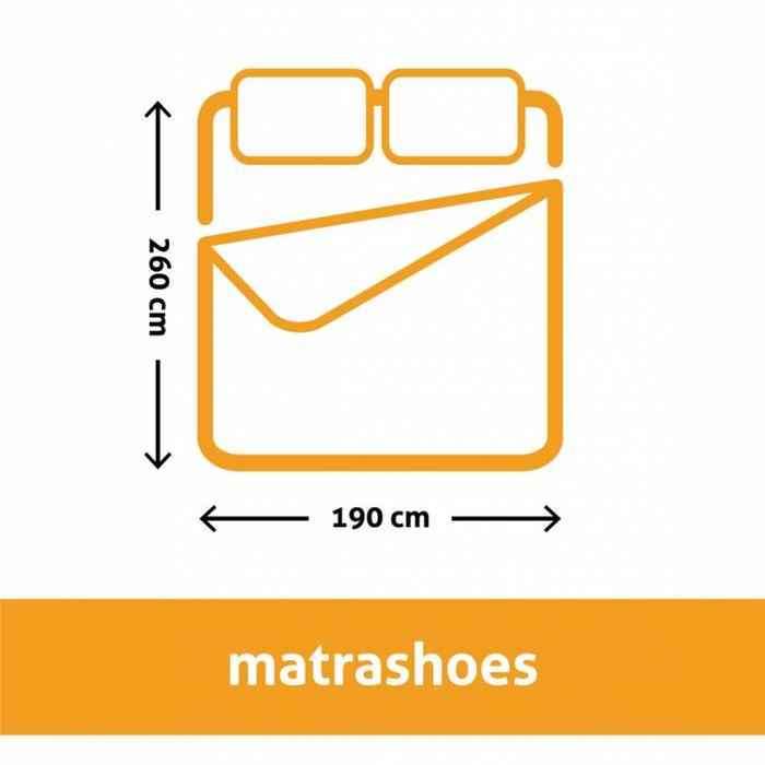 Matrashoes 2 persoons 240 x 220 cm