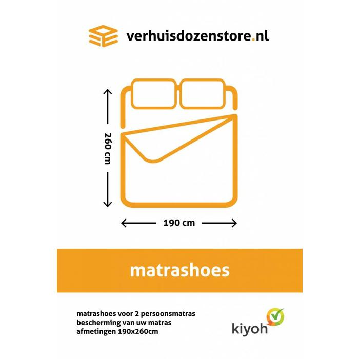Matrashoes 2 persoons 190 x 260 cm