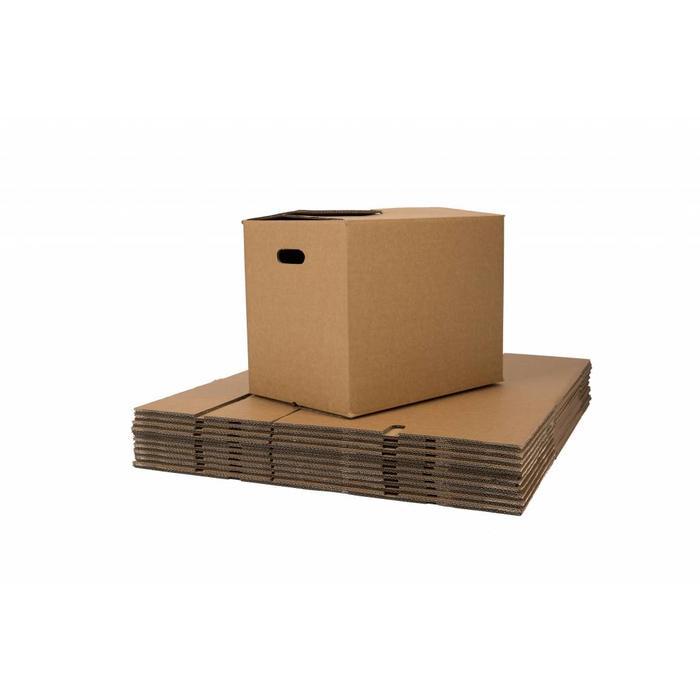 Verhuisdozen premium (onbedrukt) 15 stuks