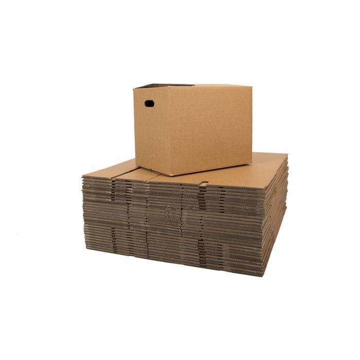 Verhuisdozen premium (onbedrukt) 30 stuks