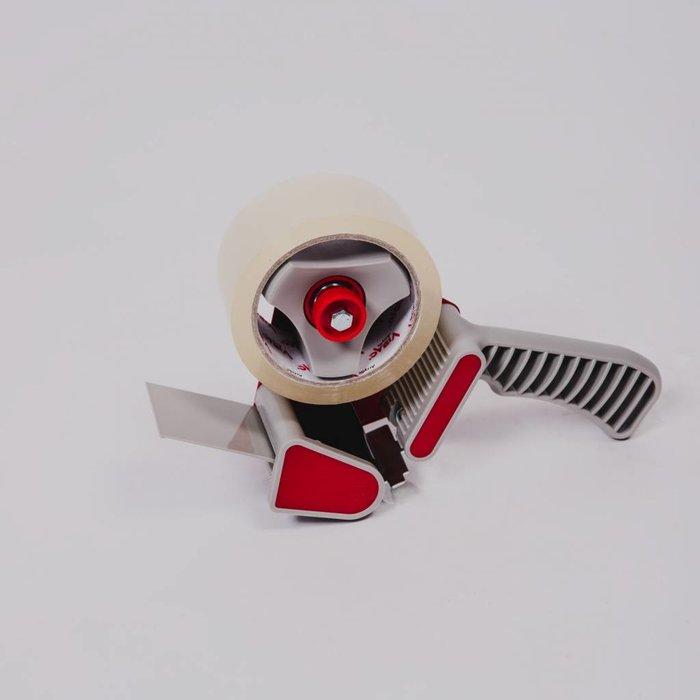 Professionele tape dispenser + 2 rollen tape