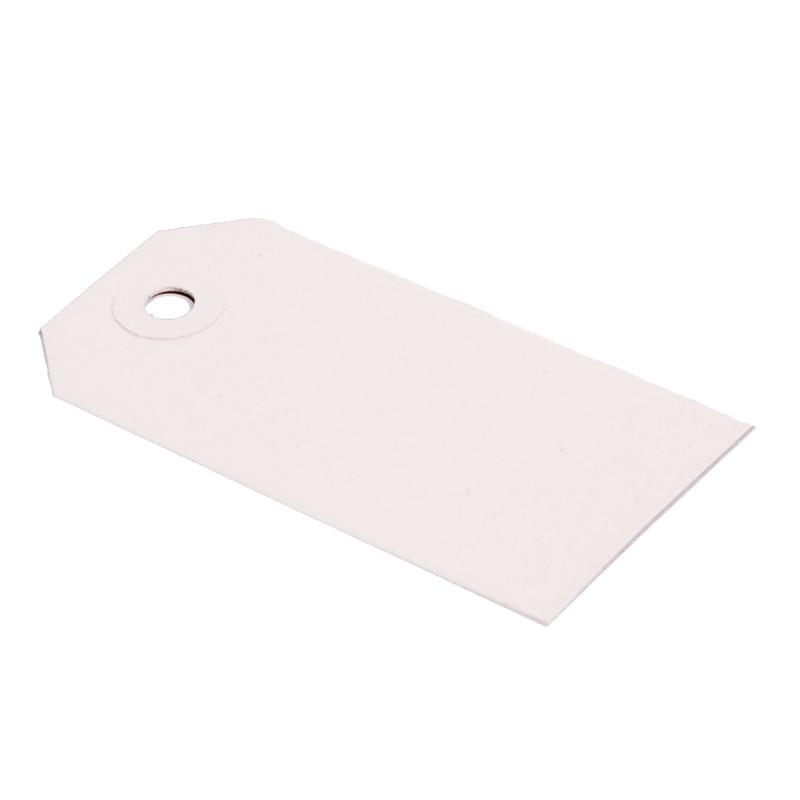 Labels (Nr. 6) 60 x 120 mm uit 200 wit karton pakje van 1000 stuks