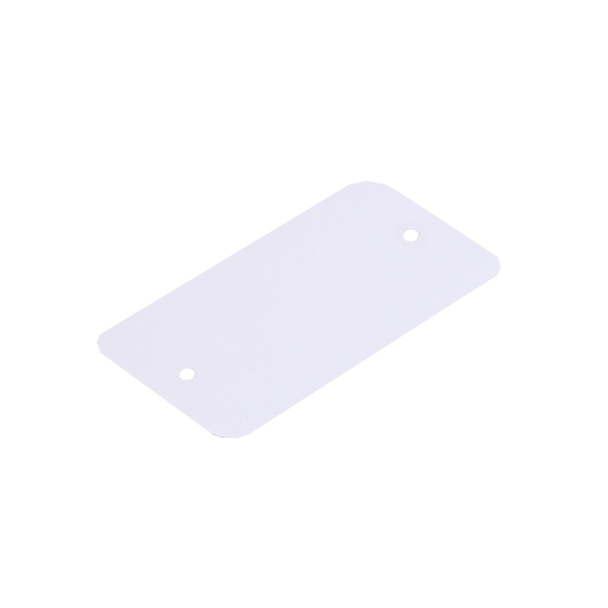 Labels 65 x 120 mm uit 200 wit kunststof pakje van 1000 stuks