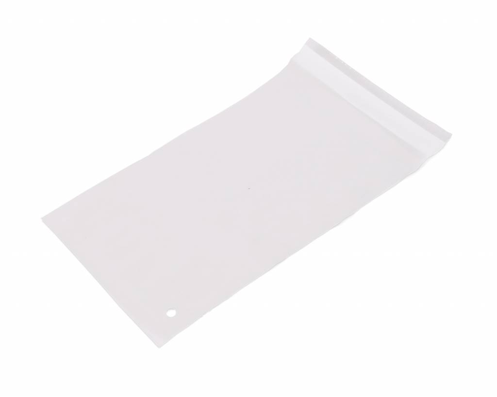 Mailing envelop 115 x 160 + 30 mm uit 45 micron LDPE pakje van 100 stuks