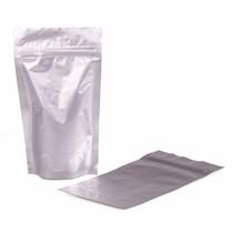 Stazakken aluminium 85 x 125 + 30 mm (100ml) per 100 stuks