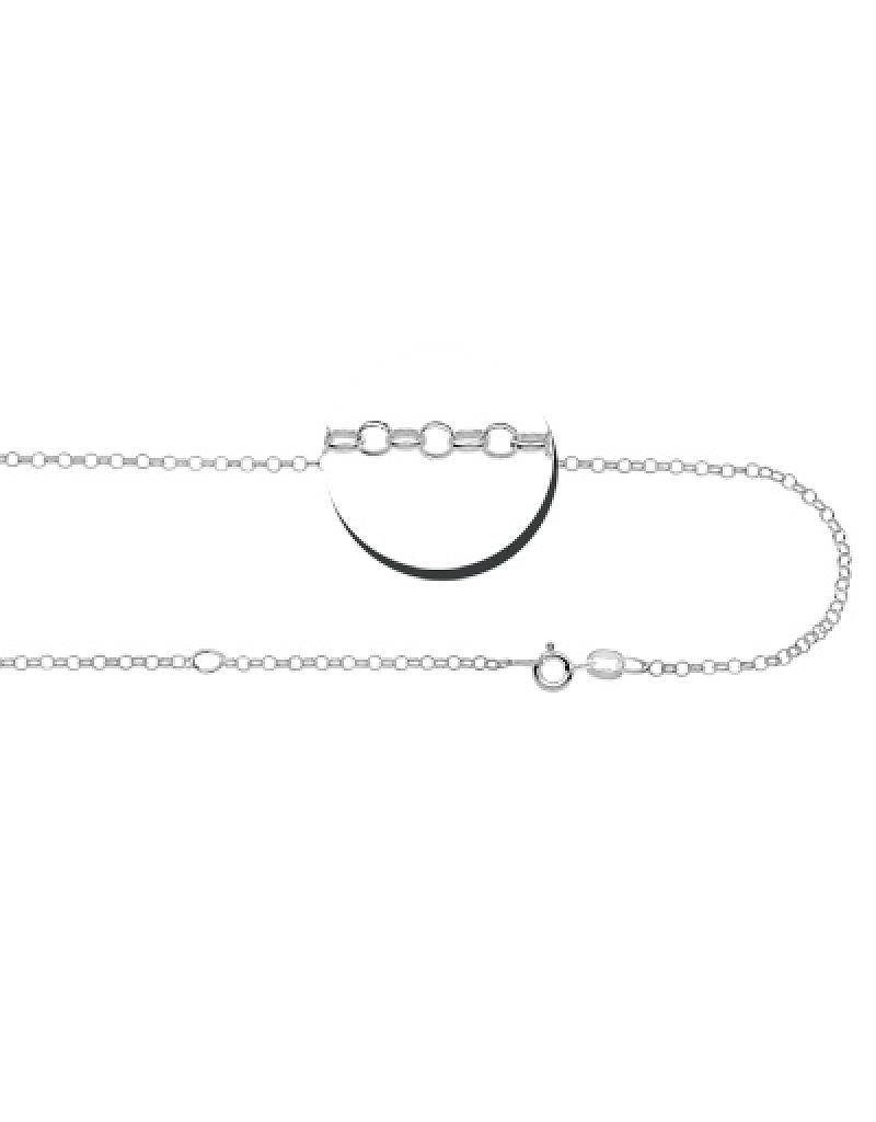 """KAYA jewellery Silver Necklace + Pearl """"A Mother holds her children's hands'"""