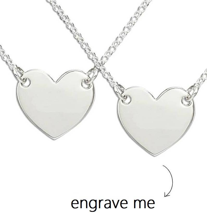 KAYA jewellery Two chains 'Memory' with engraving